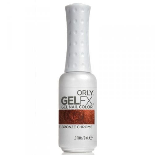 Orly Gel FX Gel Polish ROSE BRONZE CHROME 0.3 oz (9 ml)