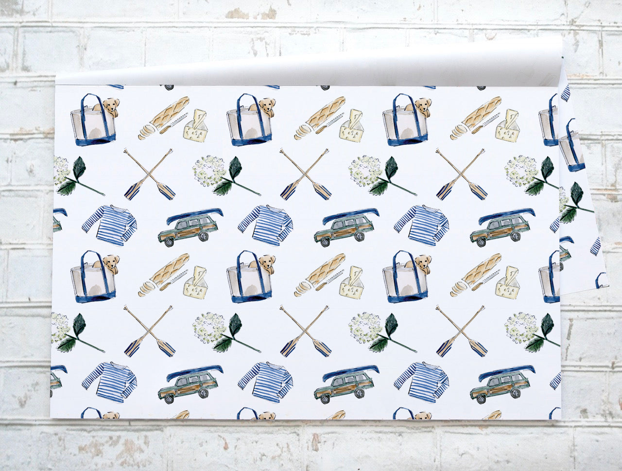 Pique nique au lac - Pic nic at the lake - Napperons de papier - Paper placemats