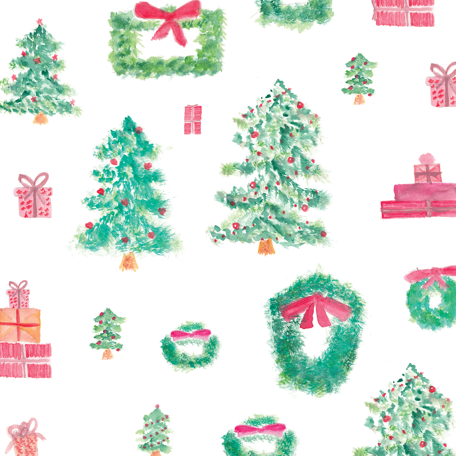 """Christmas in the City"" - Napperons de papier / Paper placemats"