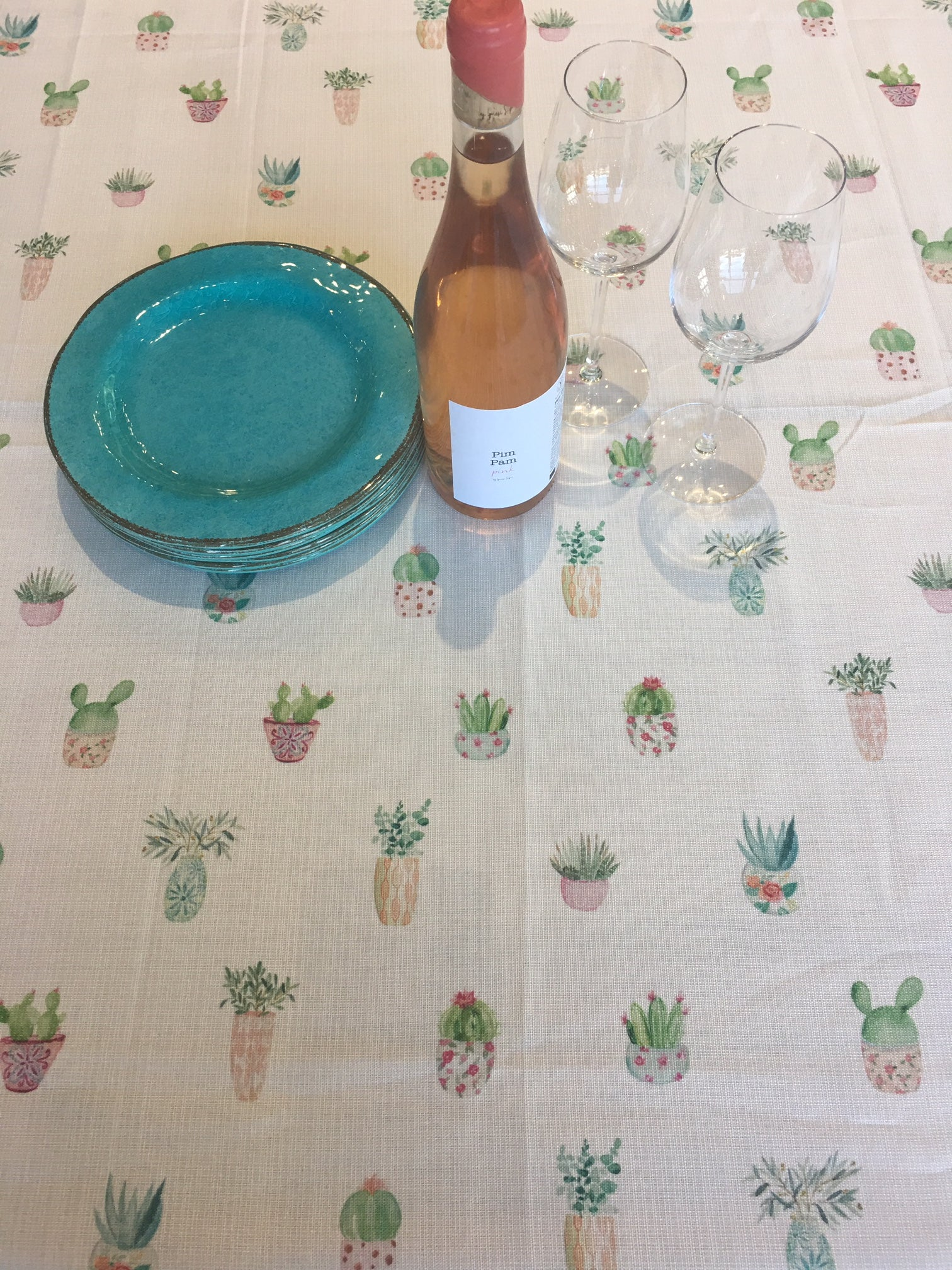 Nappe Bebe plantes - Tablecloth Baby plants