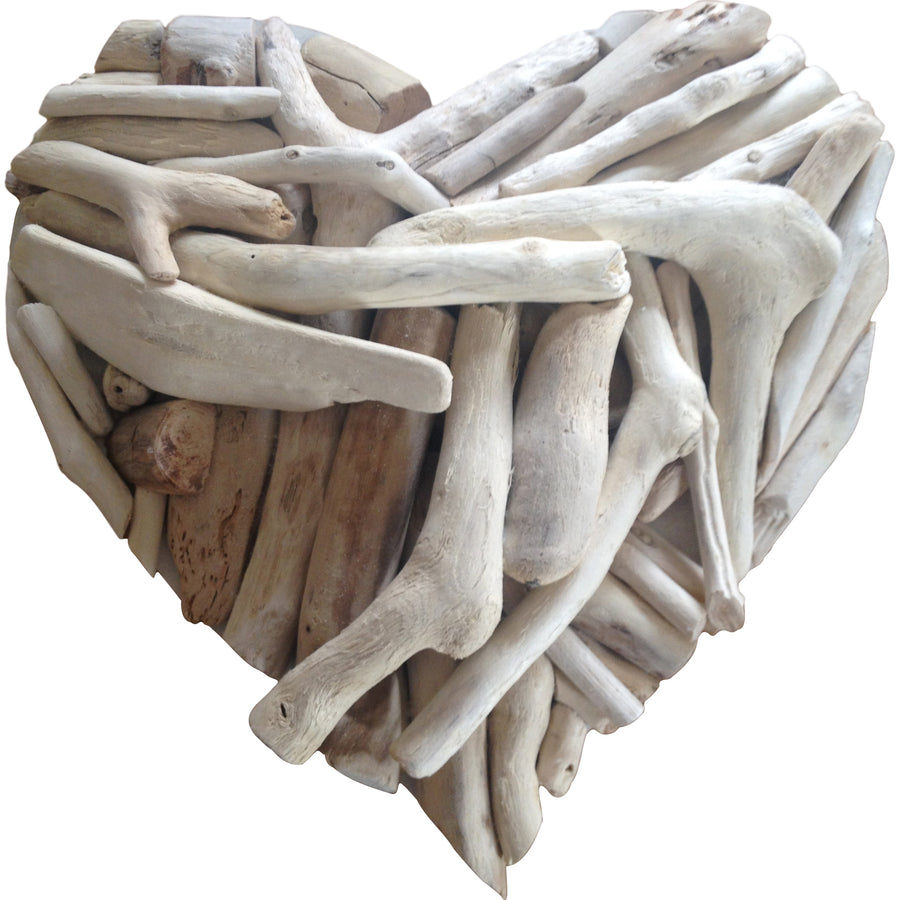 Small Driftwood Heart