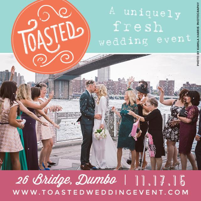 Toasted Wedding Fall Event 2015