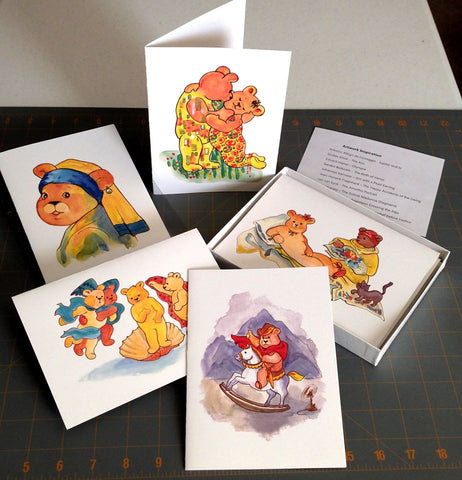History of Art greeting cards box