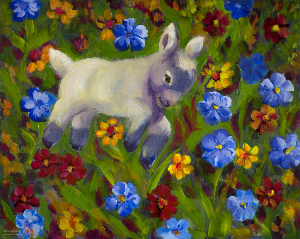 Kid Frolic original painting/ giclee/ poster