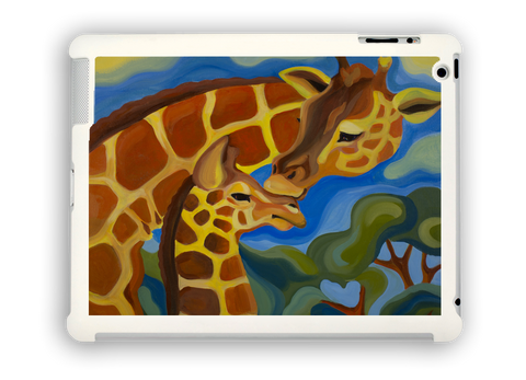 Giraffes iPad case