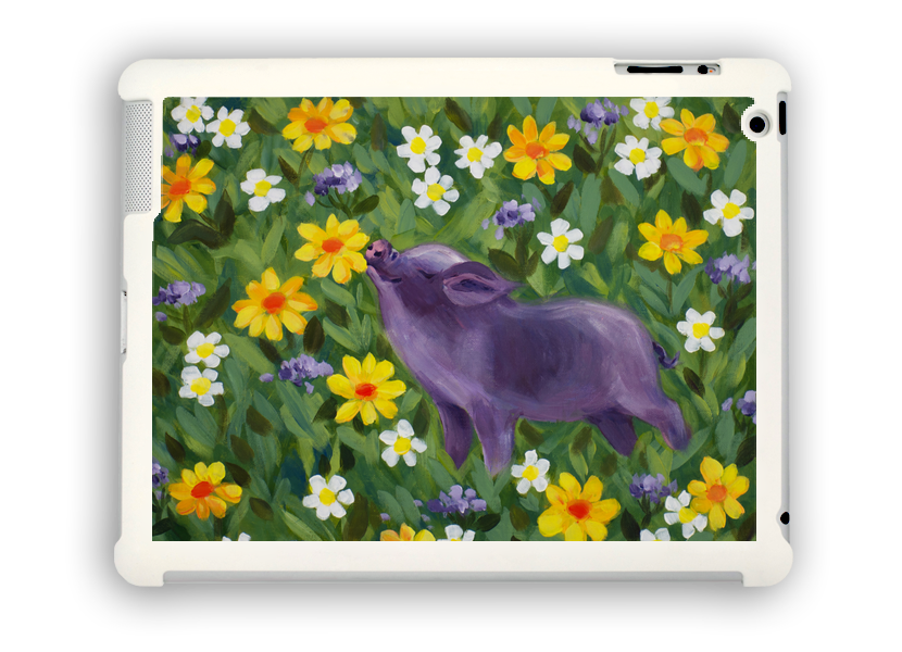 Smelly Pig iPad case