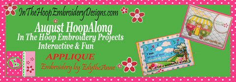 AUGUST HOOPALONG APPLIQUE