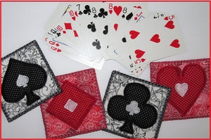 PLAYING CARDS COASTER SET- DIGITAL DOWNLOAD