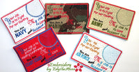 SET OF FIVE FAITH BASED BOOKMARKS Names of God - INSTANT DOWNLOAD - Embroidery by EdytheAnne - 2