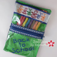 BACK TO SCHOOL BUNDLE - In The Hoop Machine Embroidery
