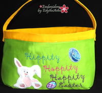 EASTER BASKET Machine Embroidery- DIGITAL DOWNLOAD