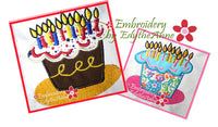 BIRTHDAY CAKE  4X4 & 5X7 - Digital Download