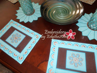 MANDALA INSPIRED THE HOOP PLACE MAT - DIGITAL DOWNLOAD