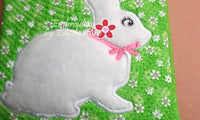 Bunny Crossbody Purse-Revised  In The Hoop Machine Embroidery - INSTANT DOWNLOAD - Embroidery by EdytheAnne - 2