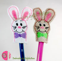 BUNNY PENCIL TOPPER....Digital Download