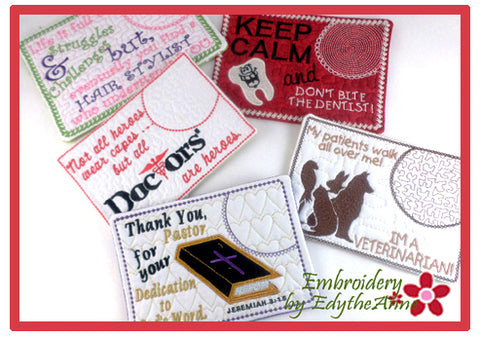 10% OFF BUNDLE of CAREER MUG MAT SAMPLER- Digital Downloads