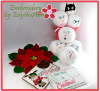 CHRISTMAS PROJECT BUNDLE  - Save 10% on Bundle- Digital Downloads