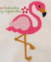 FLAMINGO!  - Machine Embroidery Design - Digital Download