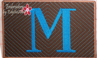 MONOGRAM MUG MATS VERSION 3 - INSTANT DOWNLOAD - Embroidery by EdytheAnne - 2