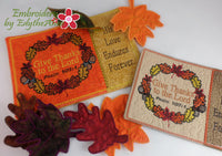 THANKSGIVING/FALL GIVE THANKS MUG MAT SET