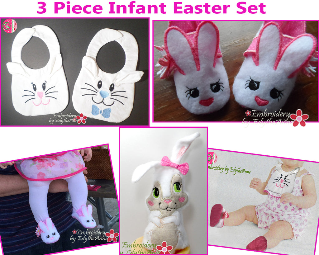 INFANT EASTER SET - In The Hoop  - Save on Bundle- Digital Downloads
