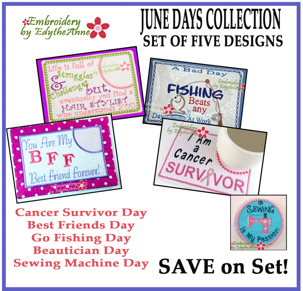 JUNE DAYS BUNDLE -SAVE 30%-Digital Downloads