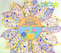 SPRING CENTERPIECE/APRIL SHOWERS In The Hoop Project -DIGITAL DOWNLOAD