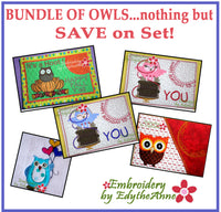 NOTHING BUT OWLS!  Save 10% on Bundle-Digital Downloads