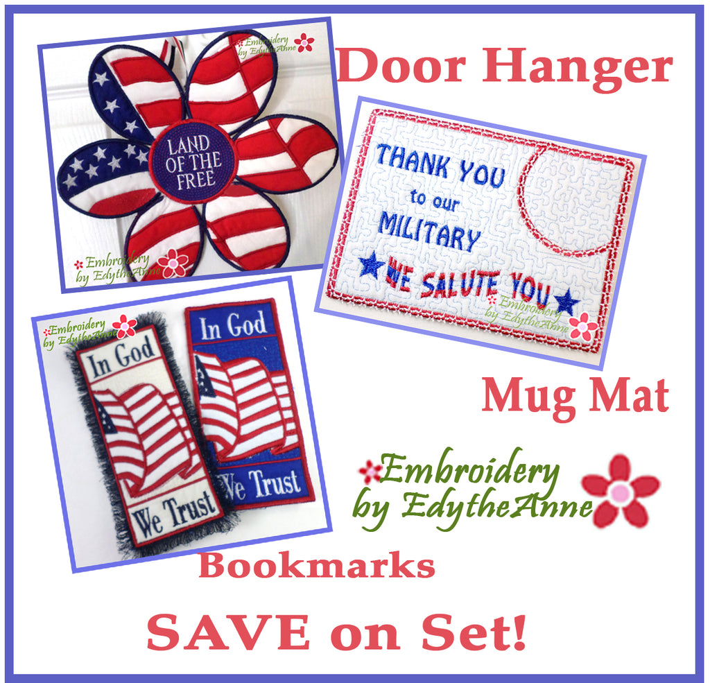PATRIOTIC SAMPLER- Save 10% on Bundle-Digital Downloads