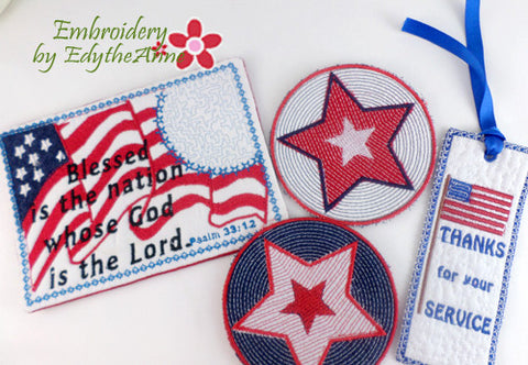 SAVE 10% OFF PATRIOTIC ASSORTMENT- Digital Downloads