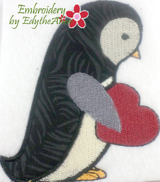 PENGUIN -Free With Purchase - Embroidery by EdytheAnne