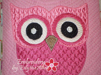 Girl's Owl Crossbody Purse. INSTANT DOWNLOAD - Embroidery by EdytheAnne - 6