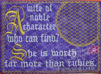 The  PROVERBS 31 WOMAN Mug Mats Version 1 In The Hoop Embroidered Mug Mat Set of Two designs.  -  Instant Download - Embroidery by EdytheAnne - 2