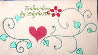 MACHINE EMBROIDERY DESIGN ELEMENTS-Set 1