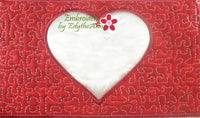I LOVE YOU VALENTINE HEART PILLOW In The Hoop Pillow.  Instant Download - Embroidery by EdytheAnne - 5