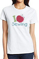 I LOVE SEWING  - Digital Download