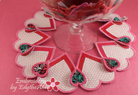 VALENTINE & BRIDAL SHOWER CENTERPIECE In The Hoop  - Digital Download
