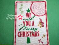 CHRISTMAS MUSIC THEMED MUG MATS BUNDLE  -Save 50% on Bundle- Digital Downloads