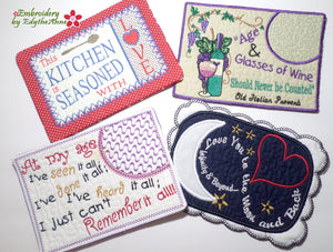 WHIMSICAL MUG MAT BUNDLE  Save on Bundle- Digital Downloads