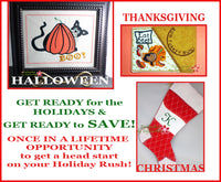 FALL HOLIDAY BUNDLE- Save on Bundle- Digital Downloads