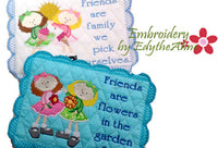 FRIENDS MUG MATS -Two Designs & Two Sizes Available. INSTANT DOWNLOAD NOW