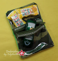 BIRTHDAY PARTY TREAT BAG - Embroidery by EdytheAnne - 3