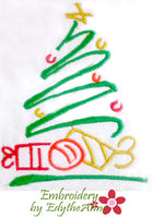 CHRISTMAS ELEMENTS-Set of 10 Machine Embroidery Designs