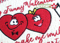 MY FUNNY VALENTINE  Mug Mat/Mug Rug 2 Sizes - DIGITAL DOWNLOAD