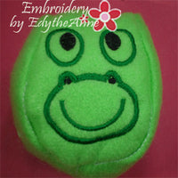 BALLS STUFFIES faces. In The Hoop Embroidery - 5