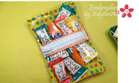 BIRTHDAY PARTY TREAT BAG - Embroidery by EdytheAnne - 2