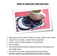 HOW TO CARE FOR YOUR MUG MAT -Digital Download