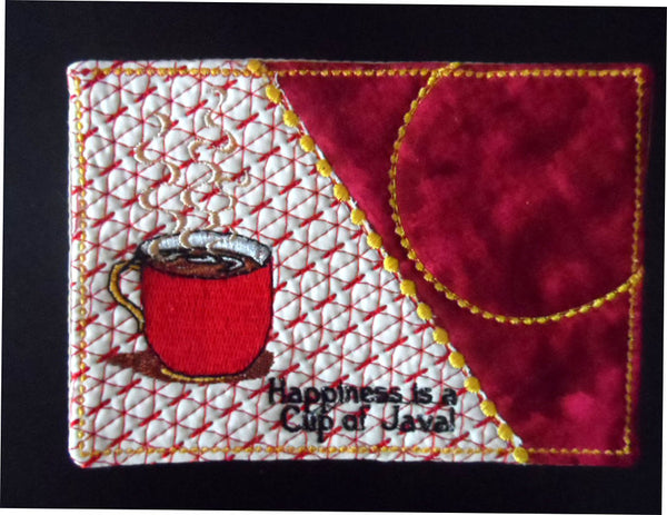 Cup Of Java And Cup Of Hot Chocolate Mug Mat Mug Rug In