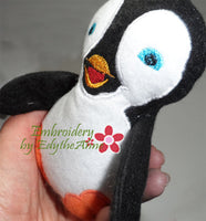 PENGUIN STUFFIE He and She in 3 Sizes In The Hoop Machine Embroidery Design...No Manual Sewing!  - Digital File - Instant Download - Embroidery by EdytheAnne - 4