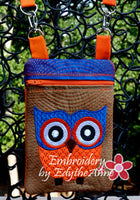 Girl's Owl Crossbody Purse